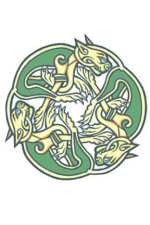 Click For More Details: Celtic Dogs Temporary Tattoo